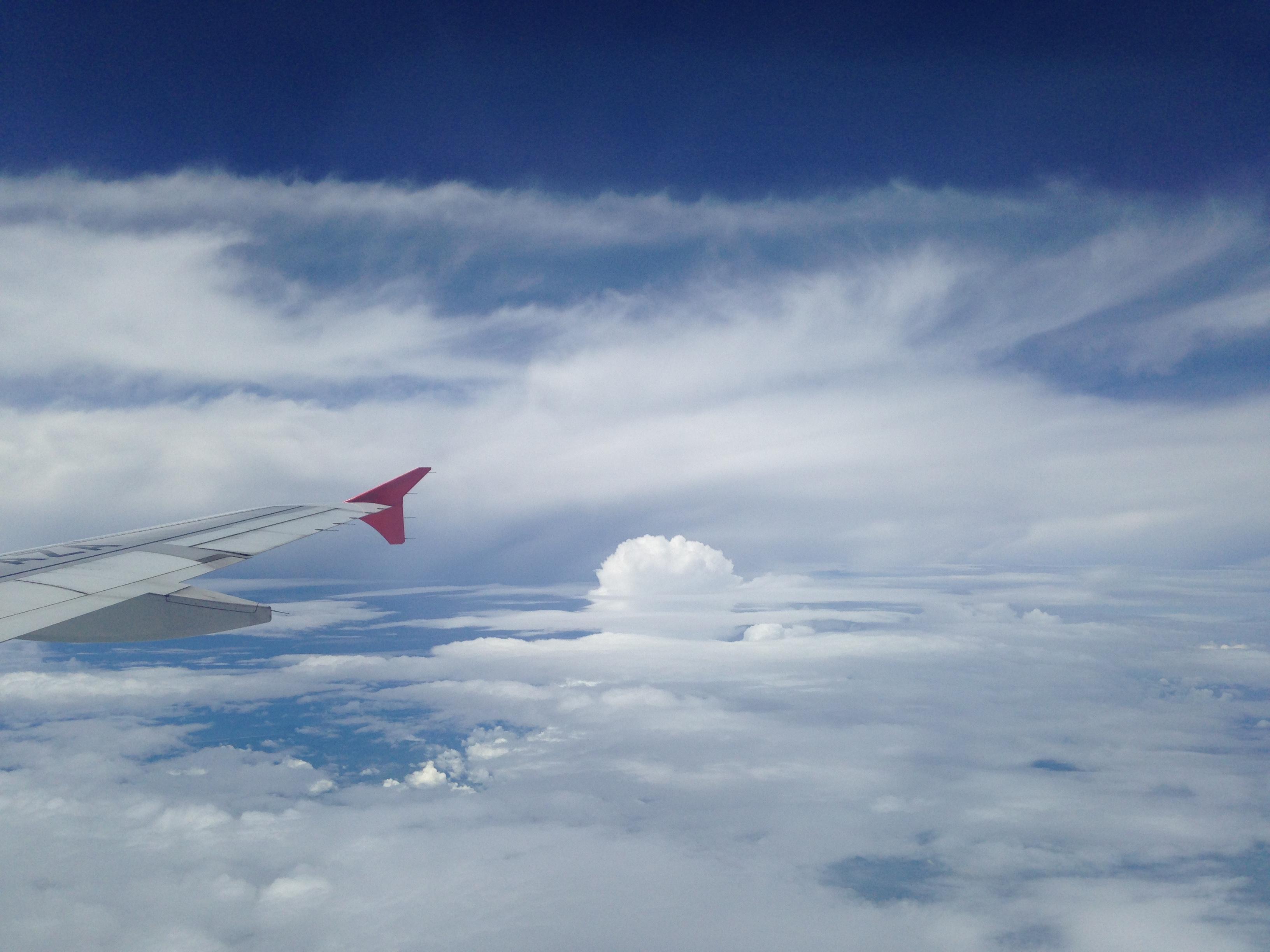 Nånstans över Indonesien